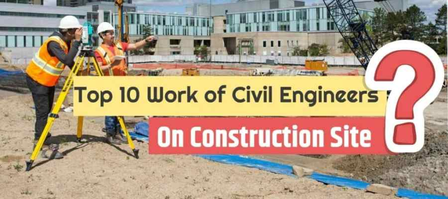 civil engineering site work