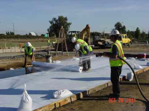 Curing of Concrete