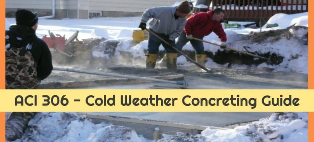 ACI 306 Cold Weather Concrete