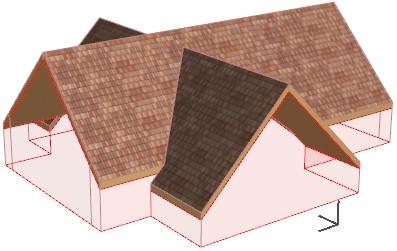 Cross Gable Roof