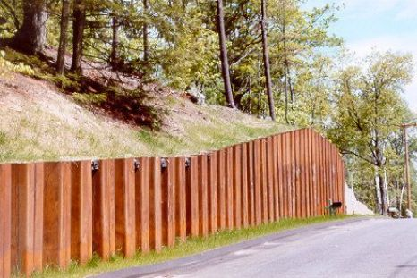 Sheet Pile Walls  Types of Retaining Wall