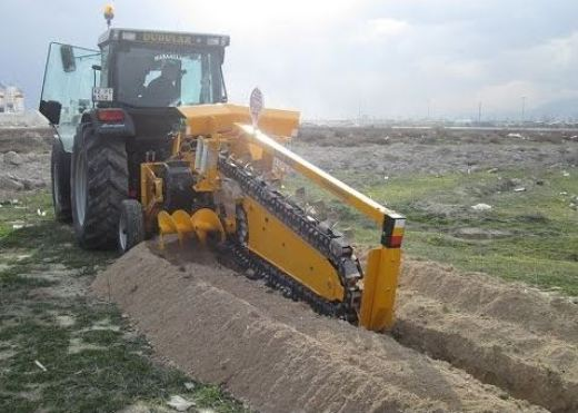 Trenching Machine - Construction Equipment
