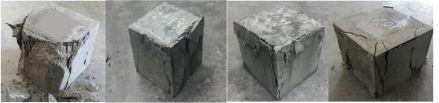 Concrete cube test fail