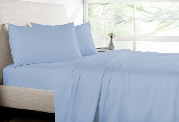 Light Color Bed Sheet - How to Keep House Cool in Summer Naturally