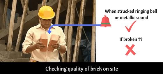 7 Brick Test | Tests on Bricks | Testing of Bricks | Brick Quality Check Test
