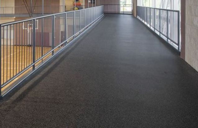 Rubber Resilient Flooring