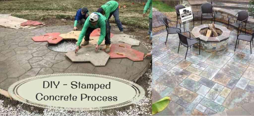 Stamped Concrete Process(DIY)