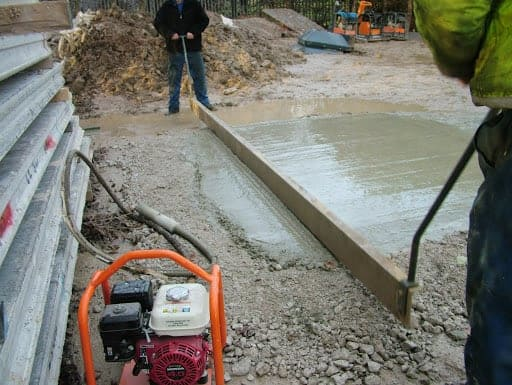 consolidation of concrete and types of vibrators