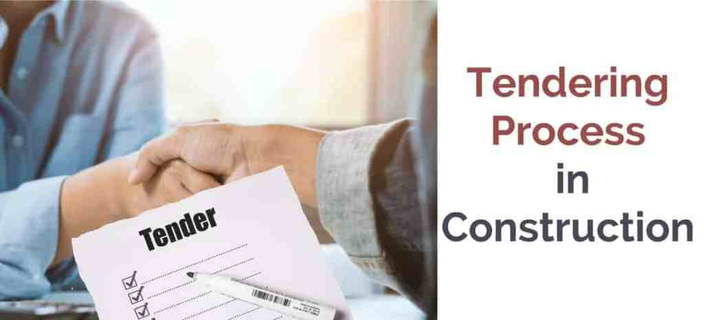 What is Tendering Process in Construction.