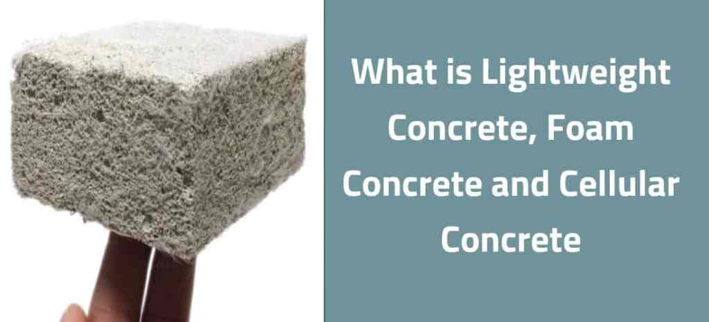 What is Lightweight Concrete