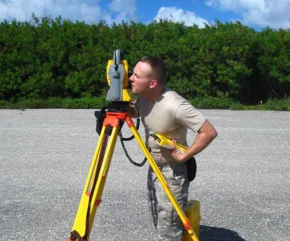 Focusing The Cross-Hair of total station