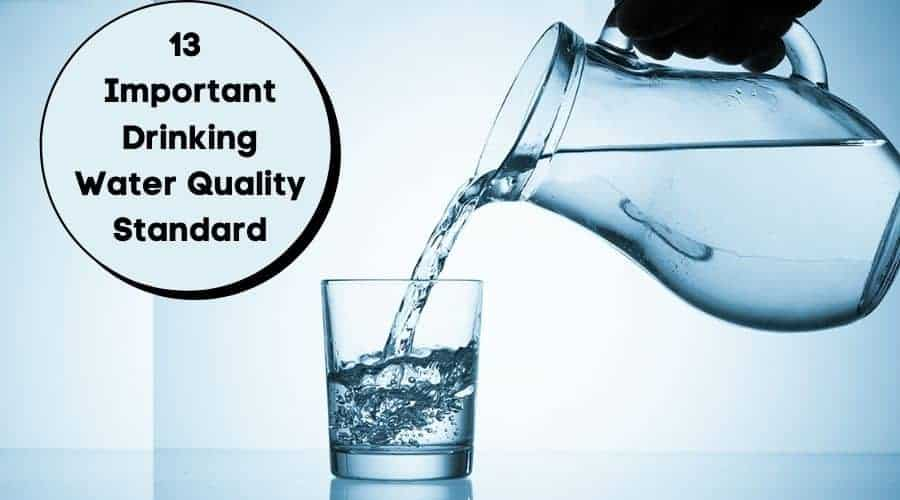 Drinking Water Quality Standard
