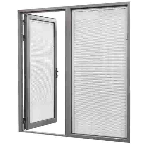 Door Frame With Glazing Panel