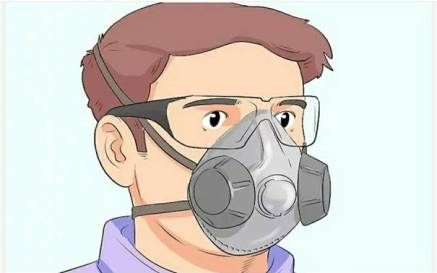Use Of Dust Mask - Cutting Of MDF Boards