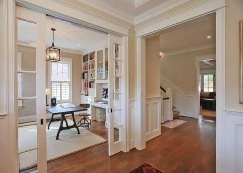 Pocket Door In Home Office
