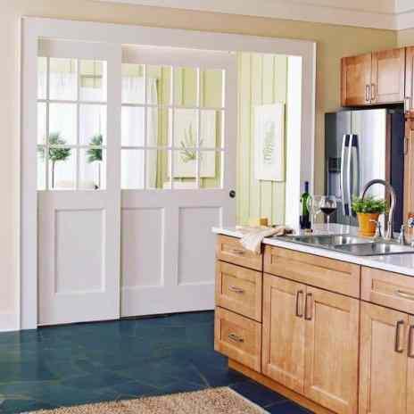 Pocket Door In Kitchen & Dining Room