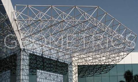 Double Layer Space Frame Structure