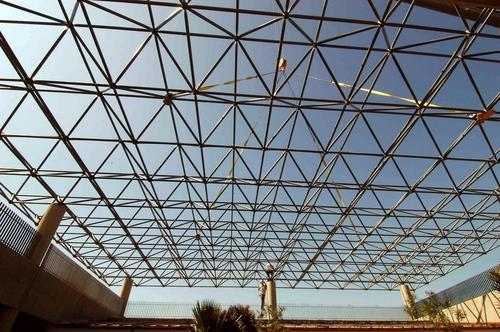 Flat Covers Space Frame Strcuture
