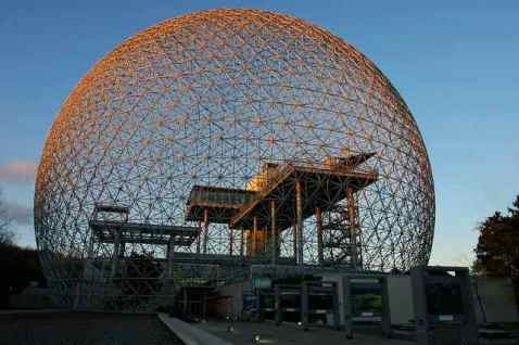 Spherical Domes Space Frame Structure