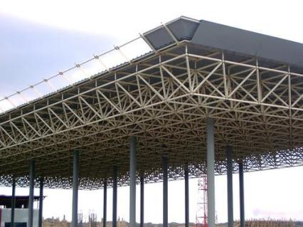 Triple Layer Space Frame Structure