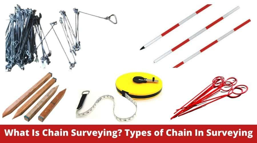 types of equipment in surveying