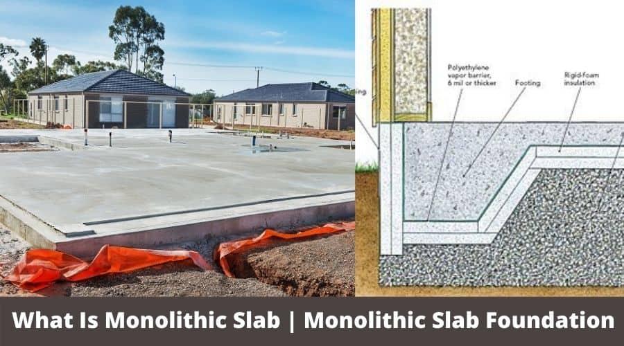 monolithic foundation