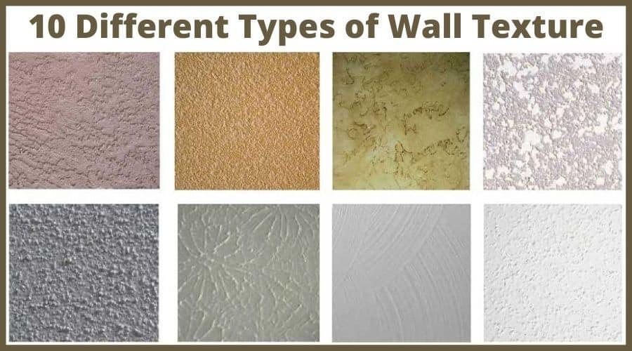 drywall texture types