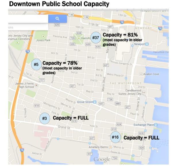 Downtown Public School Capacity