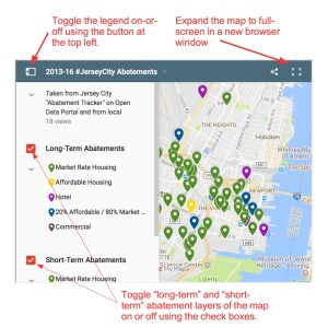 Fulop Era Abatements Approved from 2013 to 2016