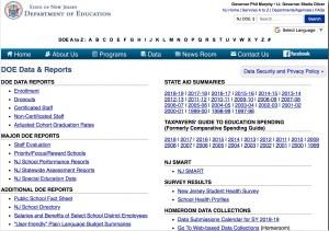 NJ School Funding Basics: NJ Department of Education Data & Reports