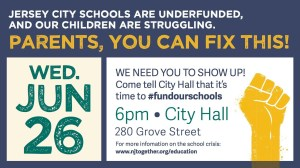 June 26th: Tell the Jersey City City Council to #FundOurSchools
