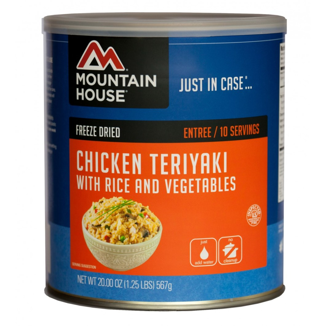Chicken Teriyaki With Rice (#10 Can)