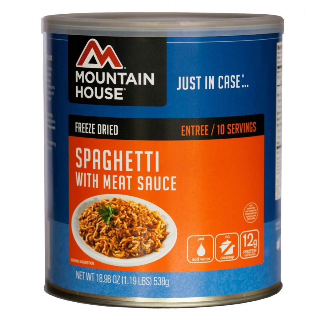 Spaghetti With Meat Sauce  (#10 Can)