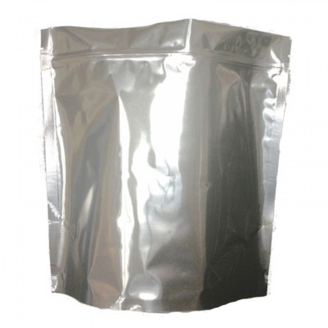 1 Gallon Stand Up Mylar Bag - Zip Seal