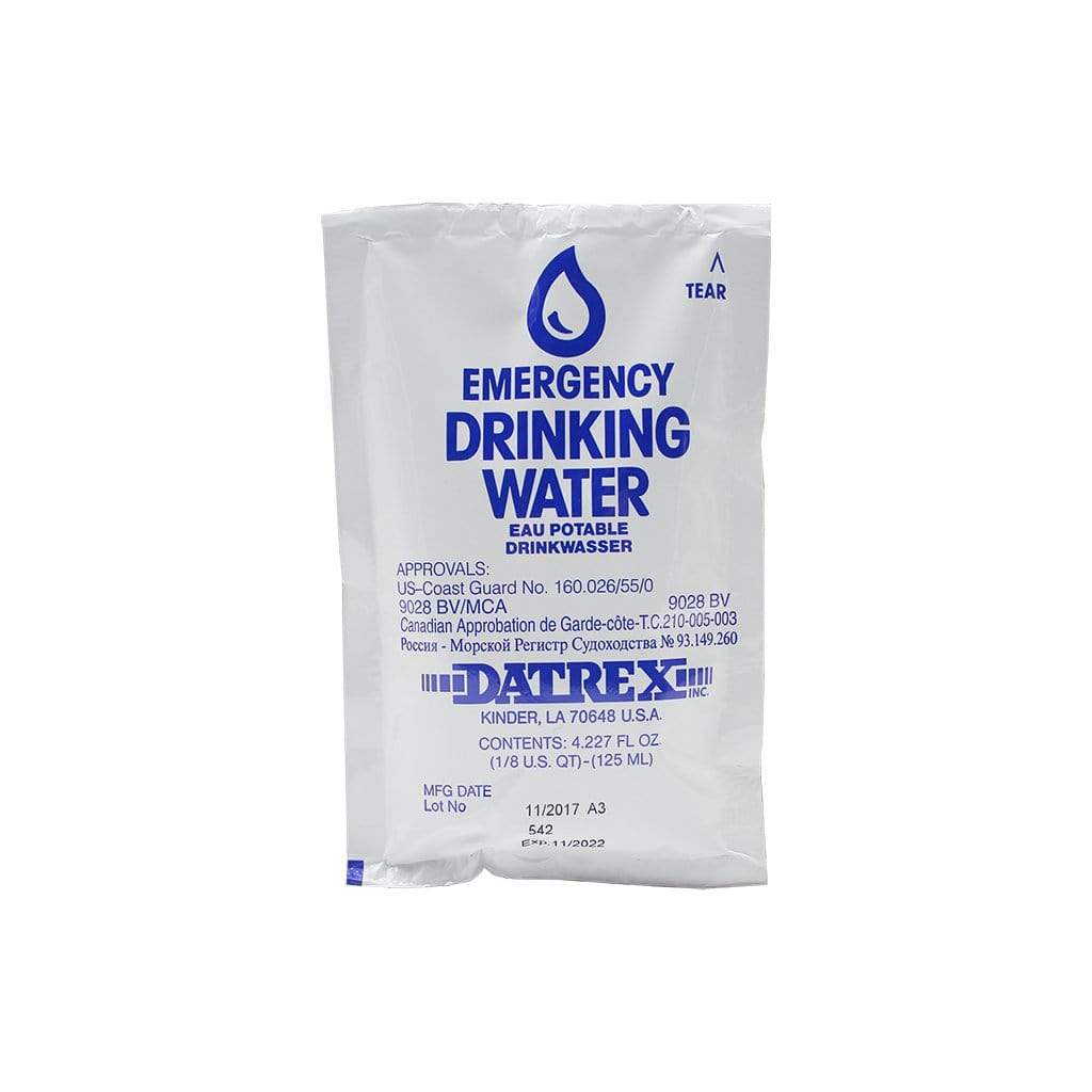Datrex Emergency Drinking Water Rations - Case Of 64