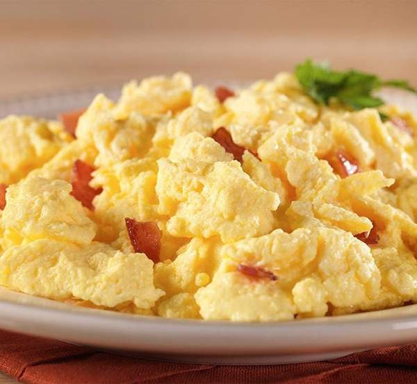 Mountain House Scrambled Eggs with Bacon #10 Can