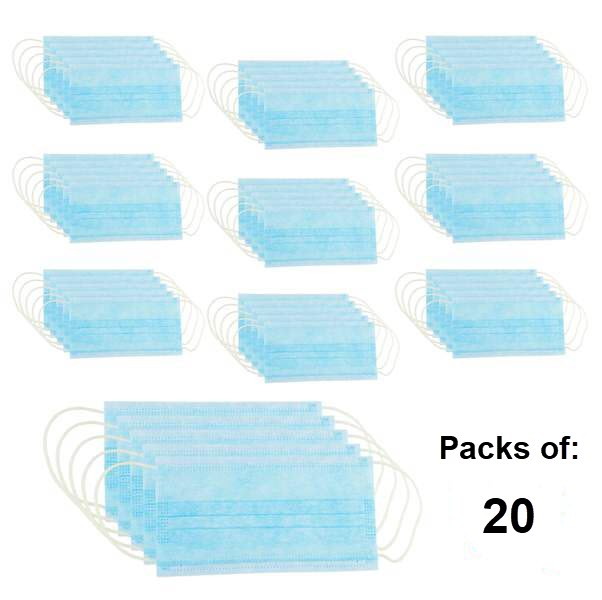 3-PLY Earloop Disposable Face Mask