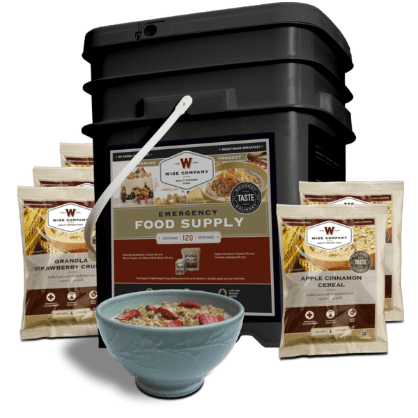 Wise 120 Serving Breakfast Only Package
