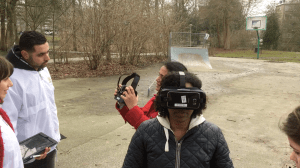 VR in the park