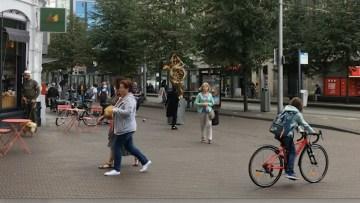 Straatbeeld Centrum Den Haag