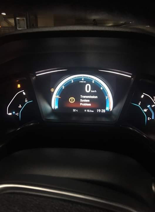 2016 Honda Civic Dashboard : honda, civic, dashboard, Mulitple, Dashboard, Warning, Lights, Coming, While, Driving, 2016+, Honda, Civic, Forum, (10th, Forum,, CivicX.com