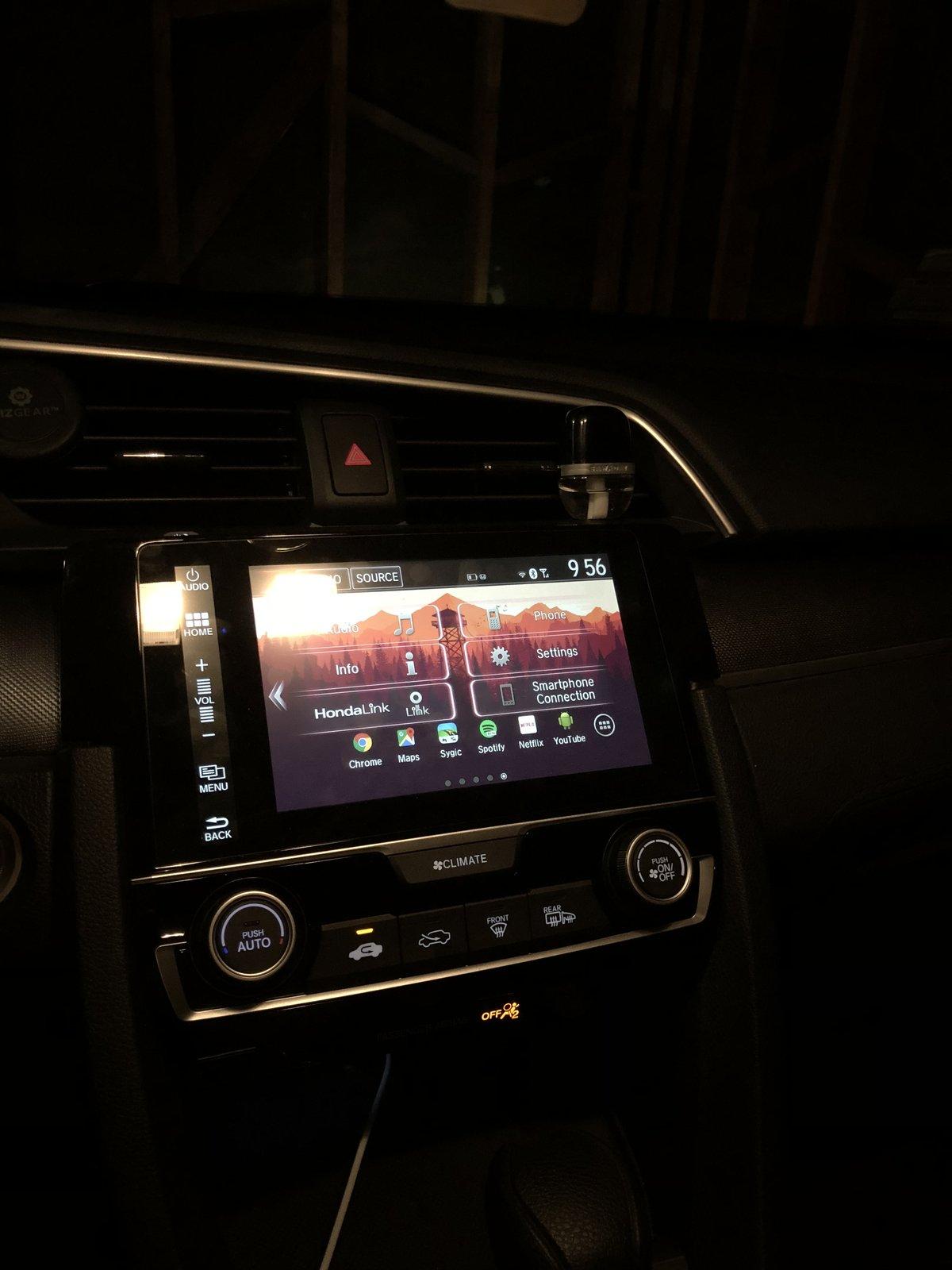 2016 Honda Civic Dashboard : honda, civic, dashboard, Dash/infotainment, Customization?, 2016+, Honda, Civic, Forum, (10th, Forum,, CivicX.com