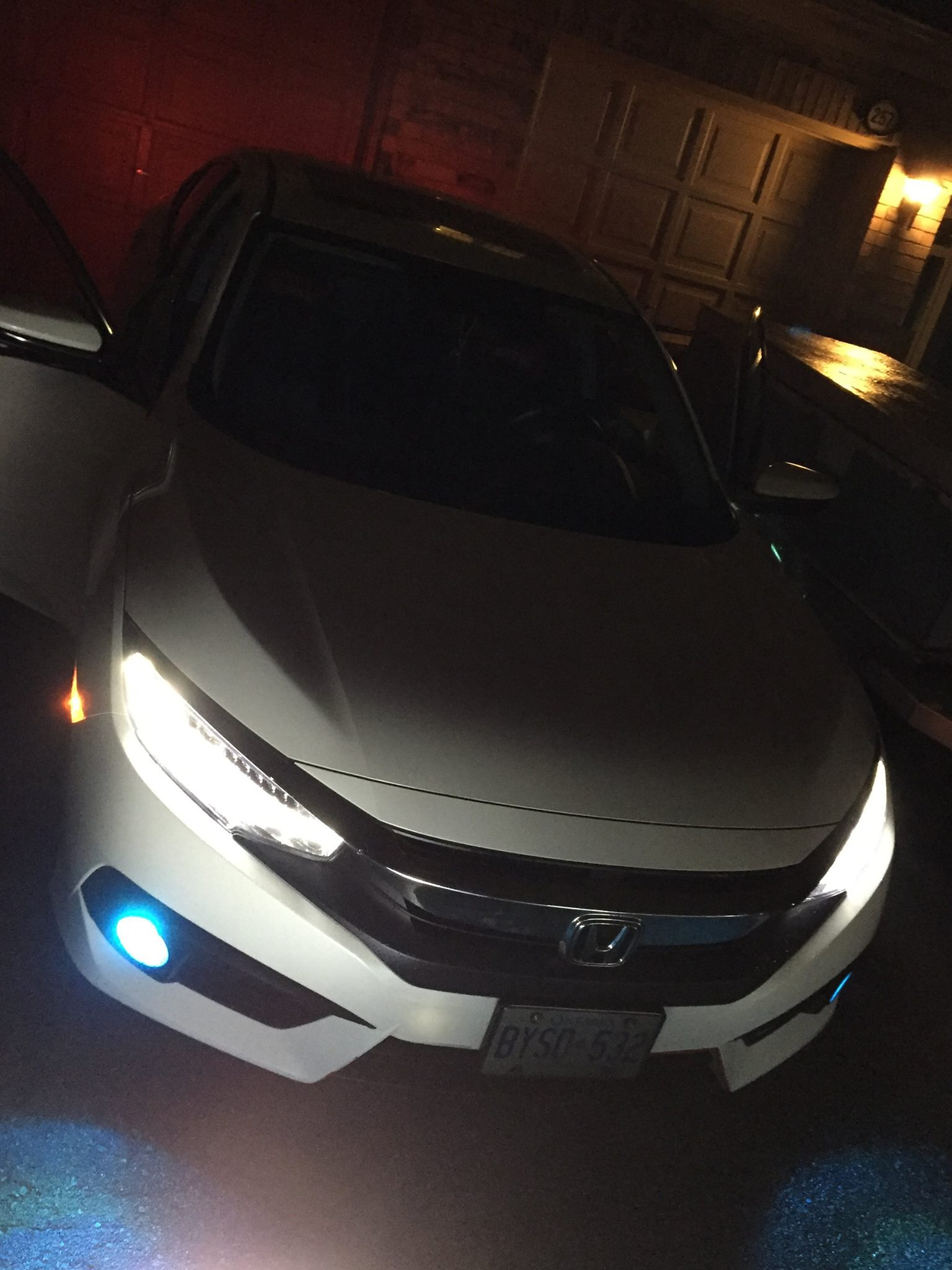 Light Blue Honda : light, honda, Light, Foglights, 2016+, Honda, Civic, Forum, (10th, Forum,, CivicX.com