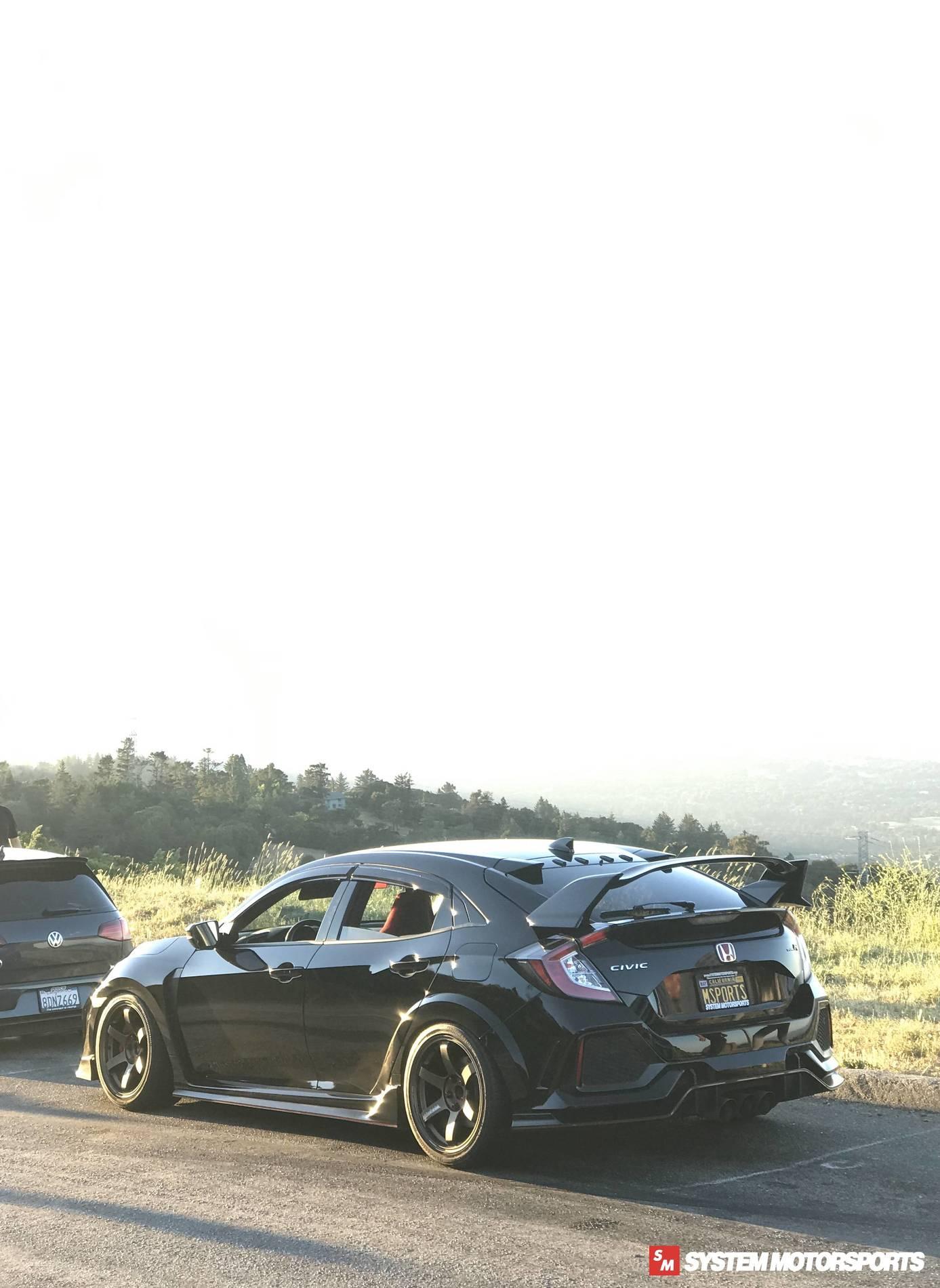 Honda Civic Type R FK8 TE37 Ultra Track edition 2