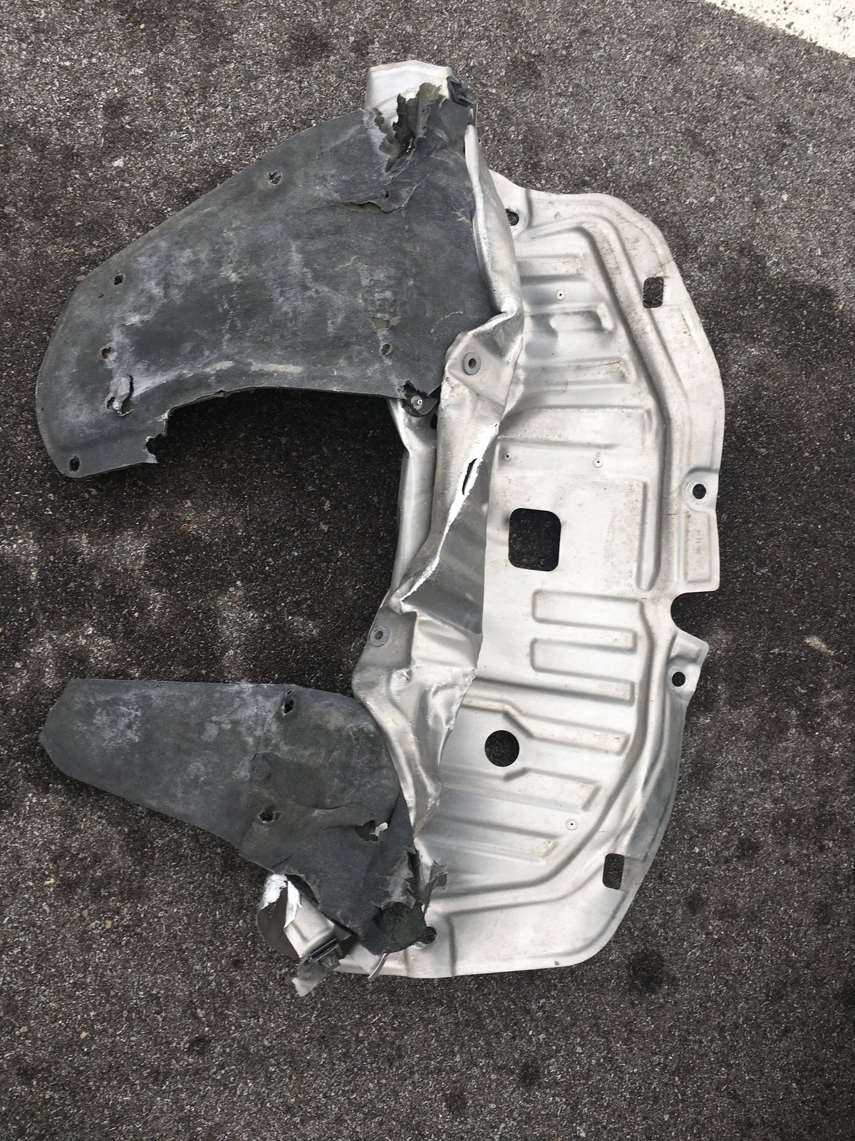 2012 Honda Civic Undercarriage Shield : honda, civic, undercarriage, shield, Plate, Crumpled, 2016+, Honda, Civic, Forum, (10th, Forum,, CivicX.com