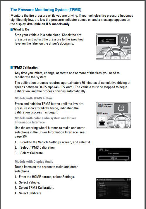 How To Reset Tire Pressure Light On Honda Civic 2016 : reset, pressure, light, honda, civic, Civic, Hatch, Sport, Pressure, Light, 2016+, Honda, Forum, (10th, Forum,, CivicX.com