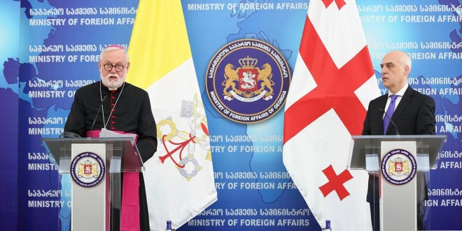 Vatican's Foreign Minister Visits Georgia
