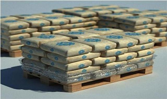 cement bag storing header & stretcher style