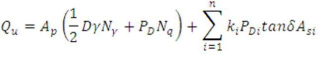 pile load capacity formula-1