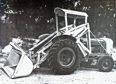 Forward loader
